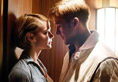 Ryan Gosling~Carey Mulligan  Drive, 2011. Hot kiss in the elevator !