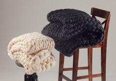 Chunky knit blanket, Chunky throw, Wedding gift, Birthday gift, Gift ideas, 18 microns Merino wool blanket, Luxury gift, FREE Shipping