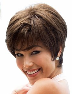 Megan Wig by Noriko. Stylish semi-wedged bob that tapers in the back. 01533ac26c