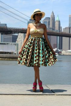Jinaki: Lily skirt - I Love the skirt with a white blouse and chunky necklace