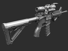 M4 carbine - Page 2 - Polycount Forum