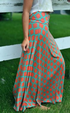All The Rage Maxi Skirt, $39.00