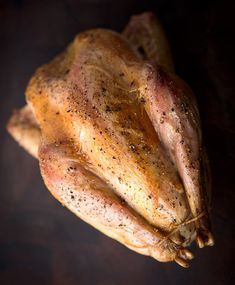 A recipe for simple roast pheasant that uses an easy brine and a hot oven to get perfectly done legs while keeping the breast moist and juicy. Pheasant Recipes Slow Cooker, Easy Pheasant Recipes, Wild Pheasant Recipe, Crockpot Recipes, Chicken Recipes, Cooking Recipes, Game Recipes