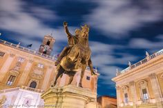 The replica of the Equestrian Statue of Marcus Aurelius standing on the Piazza del Campidoglio in rome. The original statue is on display in the Capitoline Museum. --- Join me on my photo tour around the world! If you would like to know more visit www.stefanopaterna.com. --- . . . #travel #travelphotography #photography #reisen #reisefotografie #fotografie #traveltheworld #canon #immerunterwegs #reiseblog #fotoblog #fotoreise #natgeotravel #natgeotravelpics #outdoor #urban #amazingplaces…
