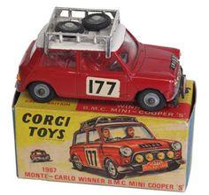 Lot 127 – Corgi Toys 339 B.M.C. Mini – Vintage Toys & Militaria Sale - Live internet & Postal Auction Only 02 Oct 2013 http://www.candtauctions.co.uk/