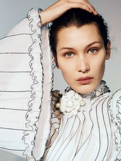 Vogue China April 2017 Bella Hadid by Collier Schorr