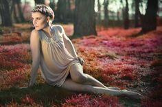 Forest nixie. Malwina Stępińska by Barbara Buda (Budka Fotograficzna) & Wytyczne kosmetyczne blog.