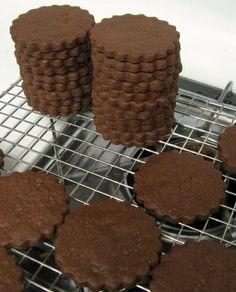 Sablés chocolatés »