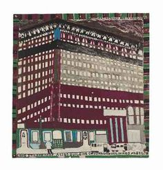 WILLIAM HAWKINS (1895-1990)  ATLAS BUILDING