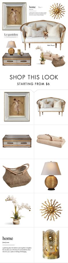 """""""Home 15.06.17"""" by maitepascual ❤ liked on Polyvore featuring interior, interiors, interior design, home, home decor, interior decorating, John-Richard, Lauren Ralph Lauren, Pottery Barn and National Tree Company"""
