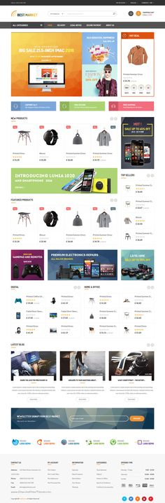 4329bf8363b1 Buy BestMarket - Multipurpose Mega Shop Responsive Prestashop Theme by  PT-Team on ThemeForest. Bestmarketz is a Multipurpose Prestashop theme, ...