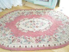 shabby chic  pink rug