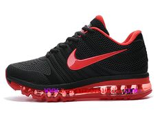 newest 89d89 847f4 Nike Air Max 2017 Chaussures de Course Coussin Dair Homme Noir rouge  849560-ID6-