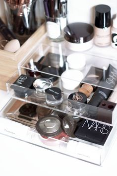 Spring Clean Your Makeup Storage