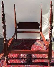 18TH CENTURY SALEM MASSACHUSETTS FOUR TALL POSTER TESTER BED Boston Furniture, Antique Beds, 18th Century, Antiques, Home Decor, Antiquities, Antique, Decoration Home, Room Decor
