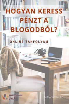 """A """"Hogyan keress pénzt a blogoddal"""" online tanfolyamon megtanítom neked, hogyan építs fel egy olyan blogot, amit sokan látogatnak, és amiből passzív bevételt is tudsz kivenni. Make Money Blogging, Way To Make Money, Advertising Networks, Blog Tips, How To Start A Blog, Pennies, Money Makers, Georgia, Writer"""