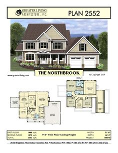 Plan 2552: THE NORTHBROOK