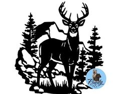 """Explore our internet site for additional relevant information on """"metal tree art decor"""". It is an excellent area to find out more. Silhouette Cutter, Silhouette Projects, Silhouette Design, Buck Silhouette, Animal Silhouette, Metal Tree Wall Art, Metal Art, Wood Wall, Hirsch Silhouette"""
