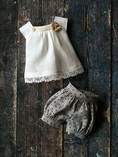 :: Crafty :: Doll :: Clothes :: Puffball shorts sets | by little_moshi