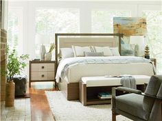 Universal Furniture | Synchronicity | Synchronicity Bed (King) | 628320B
