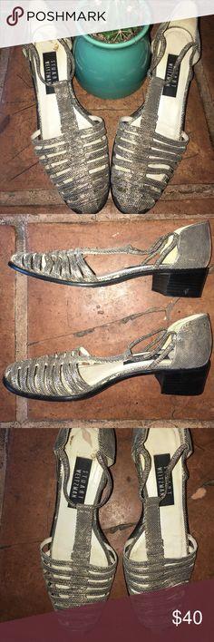 Stuart Weitzman Vintage Gold Sandals Stuart Weitzman Vintage Gold Sandals. I believe they are a size ten. Stuart Weitzman Shoes Sandals