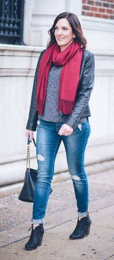 denim under $100 - Articles of Society Sarah Skinny Jeans - a great option to the AG raw hem legging ankle jeans!