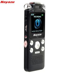 59.99$  Buy here - http://aiy0t.worlditems.win/all/product.php?id=32794970601 - NOYAZU V59 Fast Charging 16GB Stereo Recording Professional Digital Audio Voice Recorder Noise Reduction Dictaphone Mp3 Player