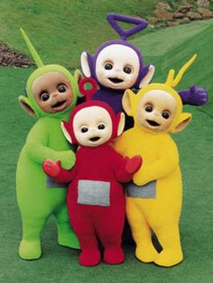 I so love these fantasy creatures. I always wished they were real when I watched the shows. They're ridiculously cute and adorable and I collect a lot of Teletubbies items and trinkets. I'm a big fan.