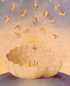 The Celestial Rose, Illustration to Dante's Paradiso