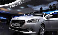 Detalhe do novo sedã compacto 301, da Peugeot, que será inicialmente produzido na Turquia; marca nega fabricação no Brasil Leia mais