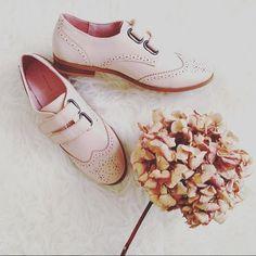 [Vu sur Instagram]  @enilorac.tutu a adopté nos derbies pour un look casual et féminin 🌸  #fashion #shoes #MademoiselleR