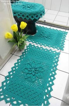 Home Decor Crochet Patterns Part 119 - Beautiful Crochet Patterns and Knitting Patterns Crochet Art, Crochet Shoes, Crochet Gifts, Crochet Doilies, Free Crochet, Doily Rug, Yarn Crafts, Diy And Crafts, Knitting Patterns