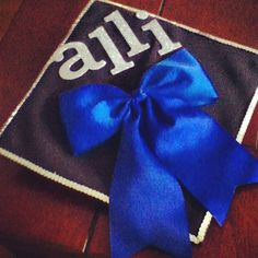 Big bow on Graduation Cap