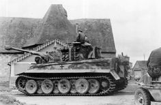 "MISCELLANEA — Panzer VI ""Tiger"" and Schwimmwagen the Schwere..."
