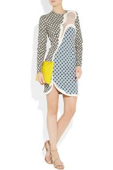 Stella McCartney, Hackett printed stretch-crepe dress