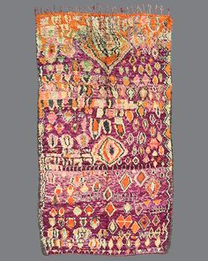 Vintage Moroccan Boujad Carpet BJ25