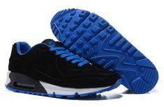 f172138e4b10 Nike Air Max 97 Nike Air Max 90 VT Suede Black Blue  Nike Air Max 90 - A  nice combination of black and blue here. The Nike Air Max 90 VT Suede ...
