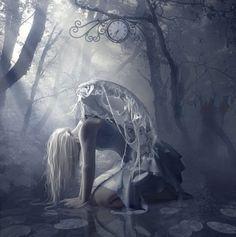 The Dark Fantasy Art of Nathalia . Dark Fantasy Art, Fantasy Art Angels, Fantasy Women, Wallpapers Geeks, Arte Obscura, Ange Demon, Angels And Demons, Fallen Angel Art, Fallen Angel Tattoo