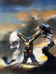 Conan el Bárbaro / Relatos Salvajes / 4 / Nacerá una Bruja (Boris Vallejo)