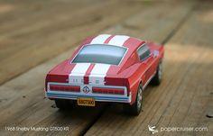 1968 Shelby Mustang GT500 KR | papercruiser.com