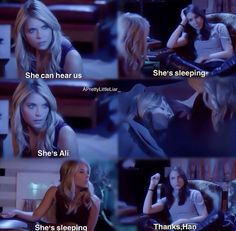 Pretty Little Liars Season 5. LMAO hannah