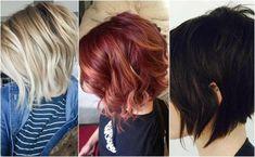 Cieniowany bob - w nim poczujesz się dobrze! #włosy bob #fryzury #damskie fryzury