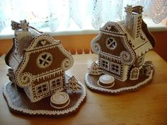 How To Make Gingerbread, Christmas Gingerbread House, Gingerbread Cake, Christmas Cookies, Gingerbread Houses, Christmas Time, Christmas Crafts, Italian Christmas, Ginger House