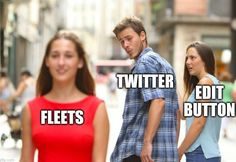 thoughts on twitter fleet memes - where is the edit button, twitter?