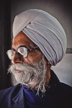 Sikh man, Punjab, India