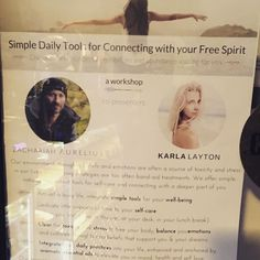 (Loc) Posted on May 29 2016 at 07:05AM: Our very own Barista Karla Layton is co-hosting a workshop  This is more than just a workshop it is a transformational session that will have you connecting deeply with your spirit and inspire yourself to create a life you love. Not to mention simple strategies on dealing with stress and boosting happiness. Come along! The event is Sunday 5th June from 12.30pm at Dharma Shala- bondi yoga school - tickets available at Eventbrite http://ift.tt/1TMGP8z by…