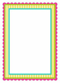 Boarder Designs, Page Borders Design, Notebook Cover Design, Bulletin Board Borders, Boarders And Frames, English Lessons For Kids, School Frame, Quilt Labels, Frame Template
