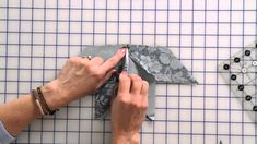 How to Sew a Beginner Eight-Point Star Quilt Block by Edyta Sitar -- Fat...