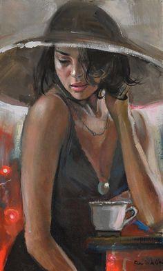 By Emilia Wilk  __ 1983 Figurative Painter  ♥..•*¨)ჱܓ