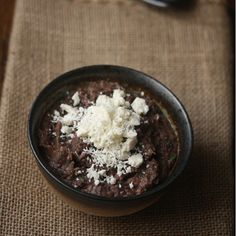 Spicy Black Bean Dip with Cotija Cheese | Food & Wine